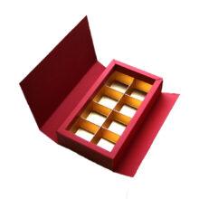 Red and Cream 8ct Folding Box