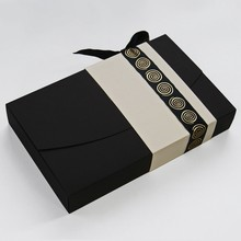 Antalis, Black and Cream 8ct Folding Box