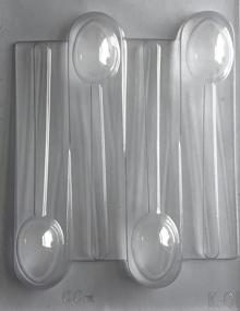 Plain spoon mold