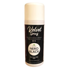 Black velvet spray by Martellato