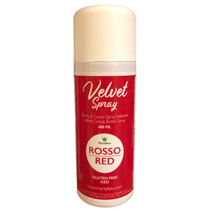 """""""Velvet spray"""" rouge"""