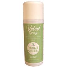 Light green velvet spray
