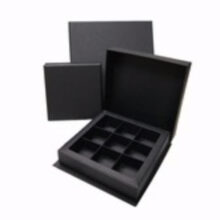 Laurentian Ebony box, 9ct