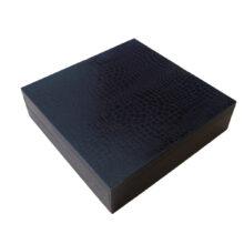 Ebony Leather Illusion 4ct Box