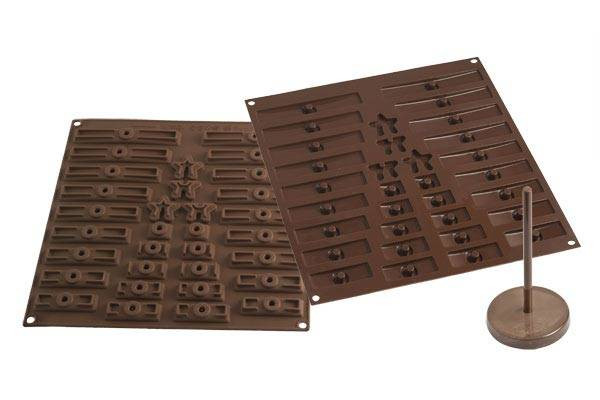 3dTreeChoc, moule silicone sapin 3d