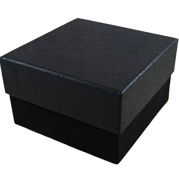 2 Tiered Display Box Ebony Croco