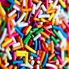 Rainbow sprinkles (150g)