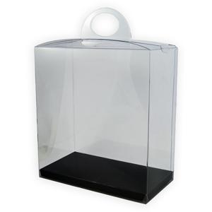 Crystal 9 Box, Reversible Black and White inner cardboard