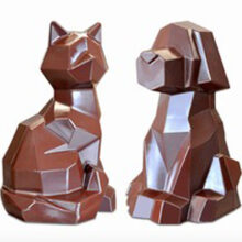 Chien and Chat Origami PVC Mold