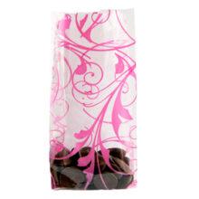 """Cello bag """"Volute Rose"""" (C1)"""