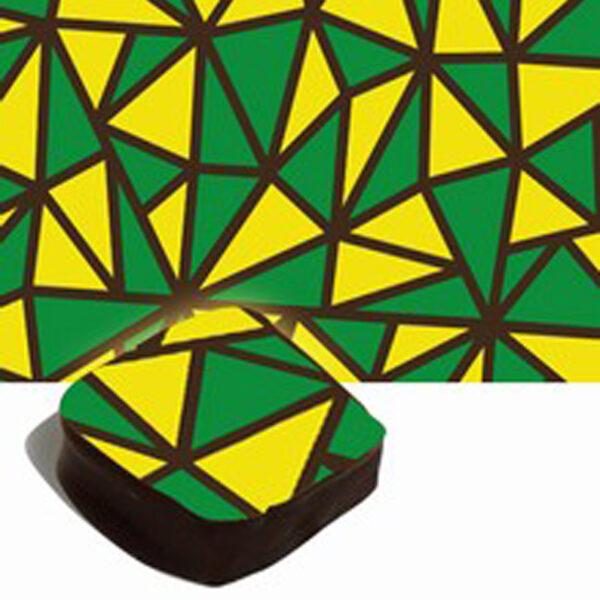 Feuilles de transfert jaune et vert