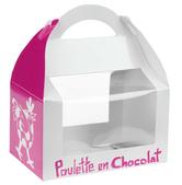 """""""Poulette en chocolat"""" box (Large)"""