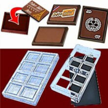 Chocolate Magnetized Mold Kit for Cards