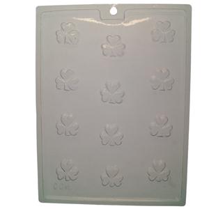 Clovers molds (4)