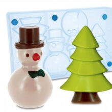 Christmas Tree + Snowman