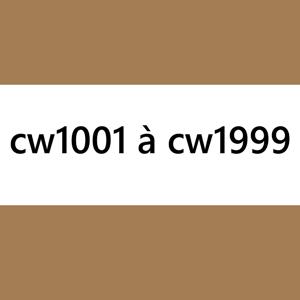 cw1001 à cw1999