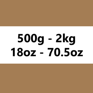 500g à 2kg