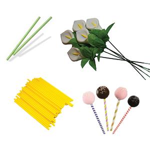 Lollipop sticks and rose stems