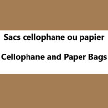 Cellophane and Paper Bags