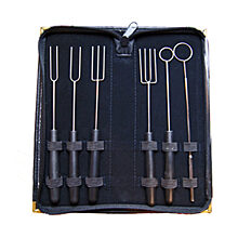 Travel Case Dipping Forks Kit A