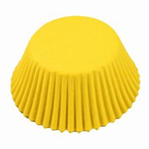 Caissettes mignardises jaune