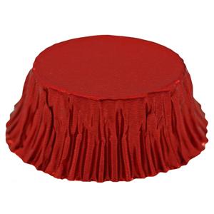 Ovale métallique rouge (200u.)