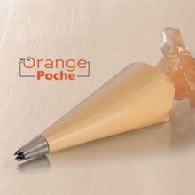 "Orange pastry bag, ""Hot Resistant"", 30cm"