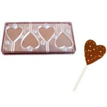 Magnetic Lollipop Heart Mold (X1087)