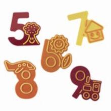 Chocolate Numbers 5-9