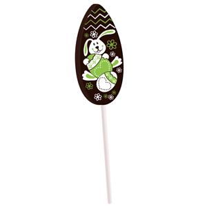 Lollipop transfer lime green