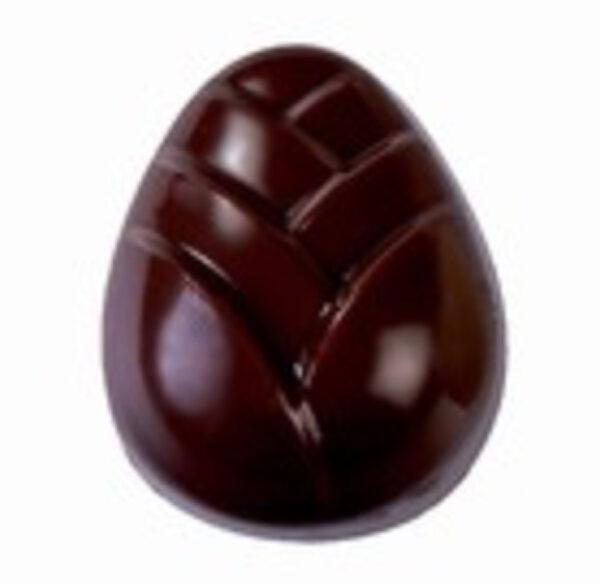 Moule chocolat bonbons roses en forme d'oeufs