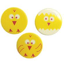 Blister Yellow and Orange round chicks