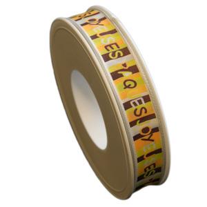 """""""Joyeuse Pâques"""" ribbon (15mm)"""