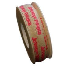 """Ribbon, """"Joyeuse Pâques"""" pink (10mm)"""