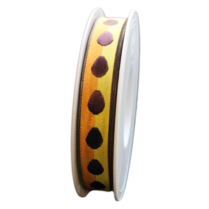 Brown egg ribbon (15mm)