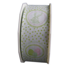 Victorian easter ribbon, green (40mm)