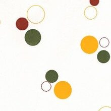 Cello bag multicoloured circles #3