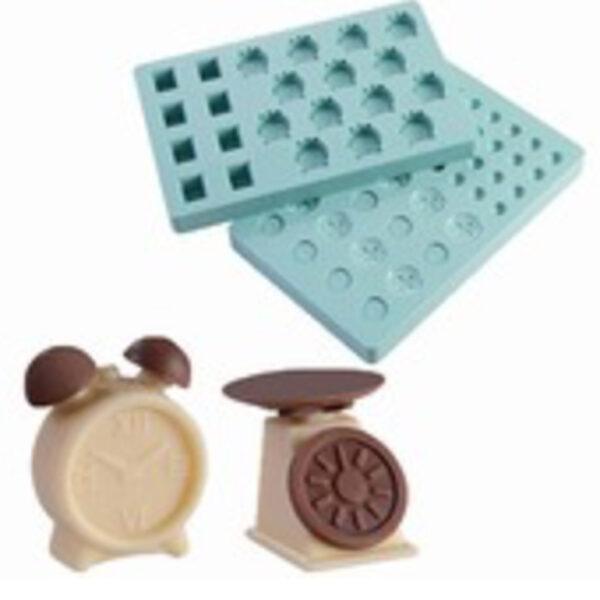 Balance et réveil moule chocolat