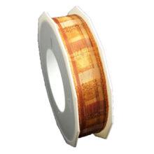 31/5000 Checked ribbon, orange (1in)