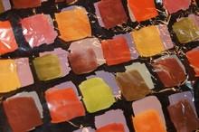 Autumn watercolours cello bag (16x20)