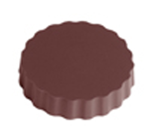 Moule chocolat magnétique rond 50mm (CW1000L03)