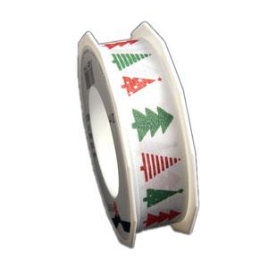 """Modern Christmas tree"" ribbon (25mm)"