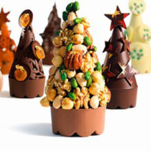 Christmas Tree Design by Callebaut