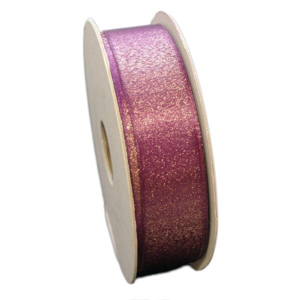 "Ruban ""Lurex"" violet ( 25mm)"