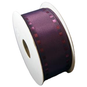 """Ruban """"pellicule"""" violet (40mm)"""