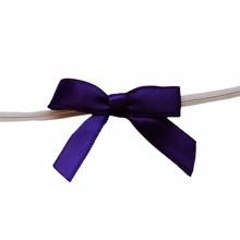 Mini bows purple