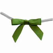 Avocado green mini bows