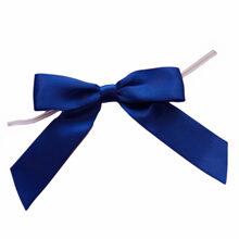 Royal blue bows
