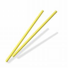 Bâtonnets papier jaune