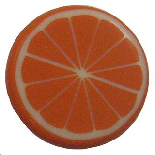 Plaque à remplir Tranche d'Orange